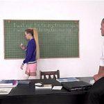 Horny student fucks teachers