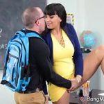 Nerdy Student Fucks His Hot Latina Teacher Mrs.Carrera
